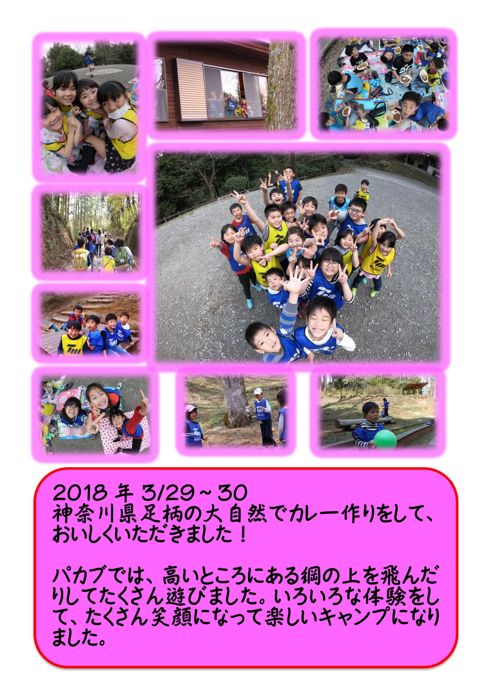 西新井スイミング 「2018年3月29日(木)~3月30日(金) スプリングキャンプ」に行きました